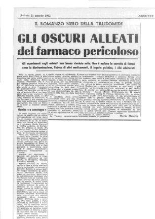 articolo 25 ago 62